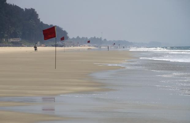 Colva Beach i Goa